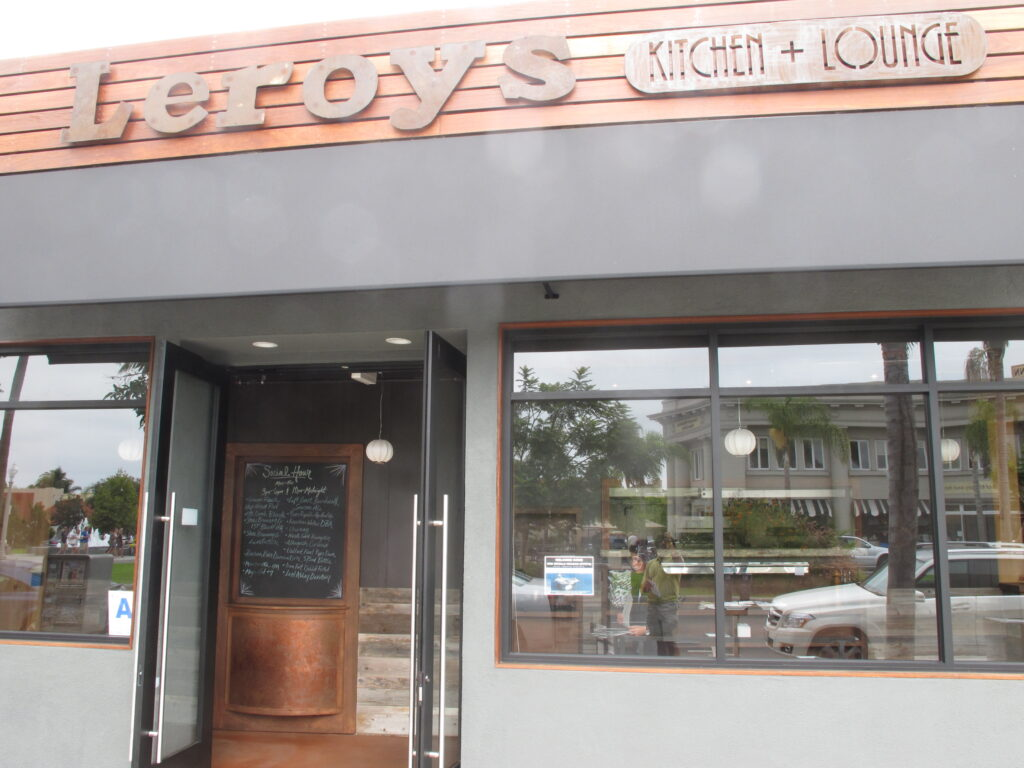 20 Review Of Leroy S Kitchen Lounge Top Notch Food Paired With Great Drinks Coronado Times