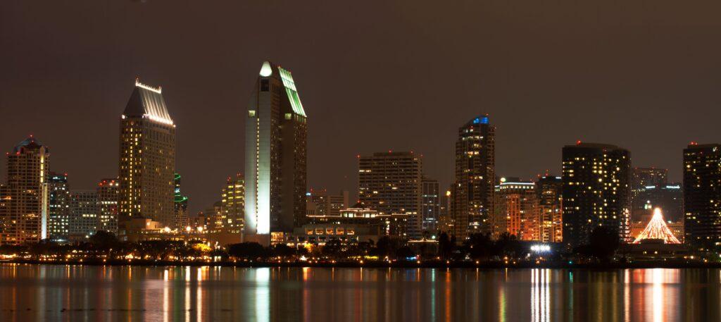 Downtown San Diego Skyline Coronado Times
