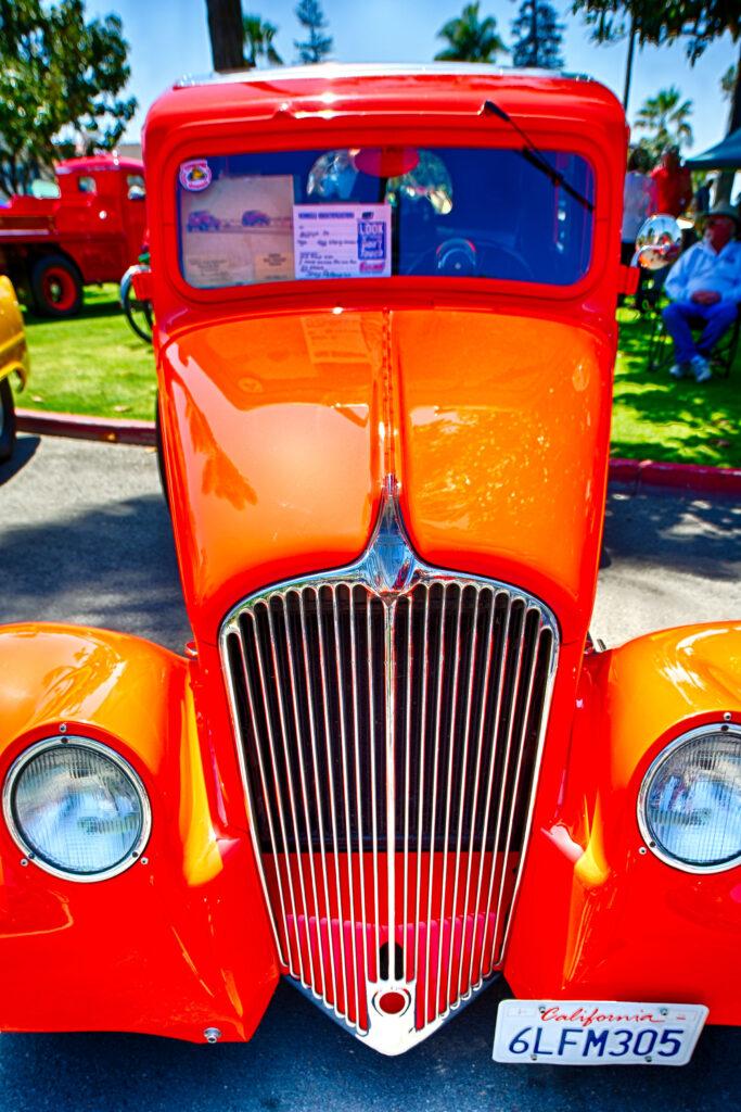 Orange Custom Truck Amazing Paint Job
