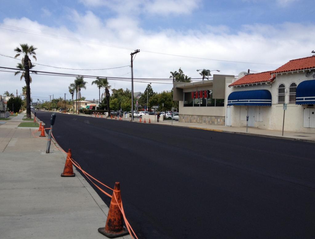 Street Preventive Maintenance: Slurry Seal Work To Start