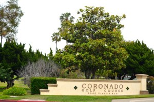 Coronado Golf Course entrance