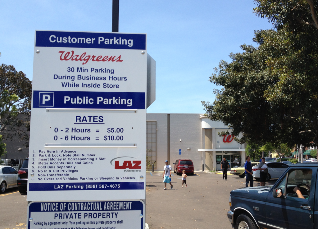 Walgreens Adds Paid Parking for up to Six Hours | Coronado Times