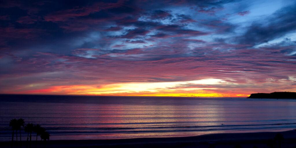 Sunset over Point Loma | Coronado Times