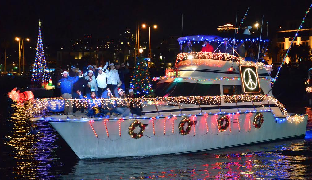 San Diego Bay Parade Of Lights Gorgeous San Diego Bay Parade Of Lights Brings Holiday Cheer To Bayfront Dec