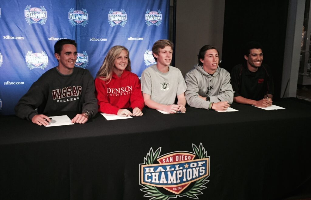 Coronado Athletes Attend February National Letter of Intent Day at