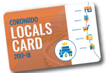 2017-18 Locals Card CSF Coronado Schools Foundation