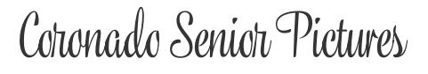 Coronado Senior Pictures Logo