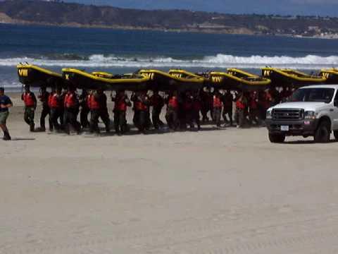 Coronado Navy Seals Training On Beach