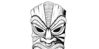 CHS Islander Tiki