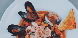 Bluewater Boathouse Cioppino