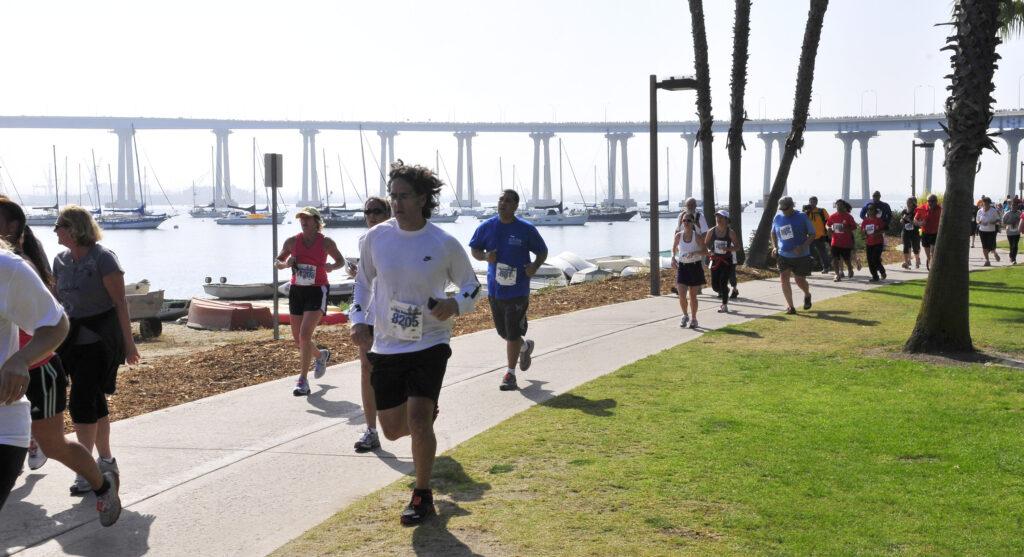 The navy 39 s bay bridge run celebrate 30 years coronado for Bay bridge run 2016