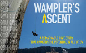"""Movie poster of the Award-Winning """"Wampler's Ascent"""""""