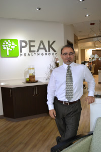 Dr. Patrick Yassini, M.D., Owner of Peak Health Group