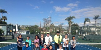tennis clinic 2015