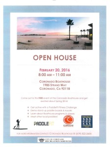 coronado boathouse open house
