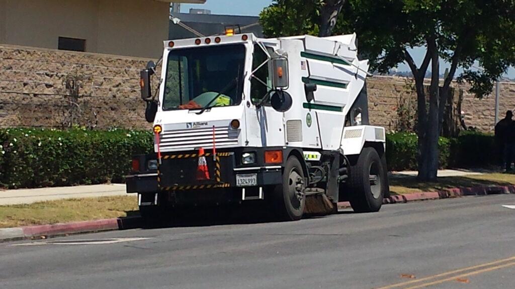 street sweeper coronado times