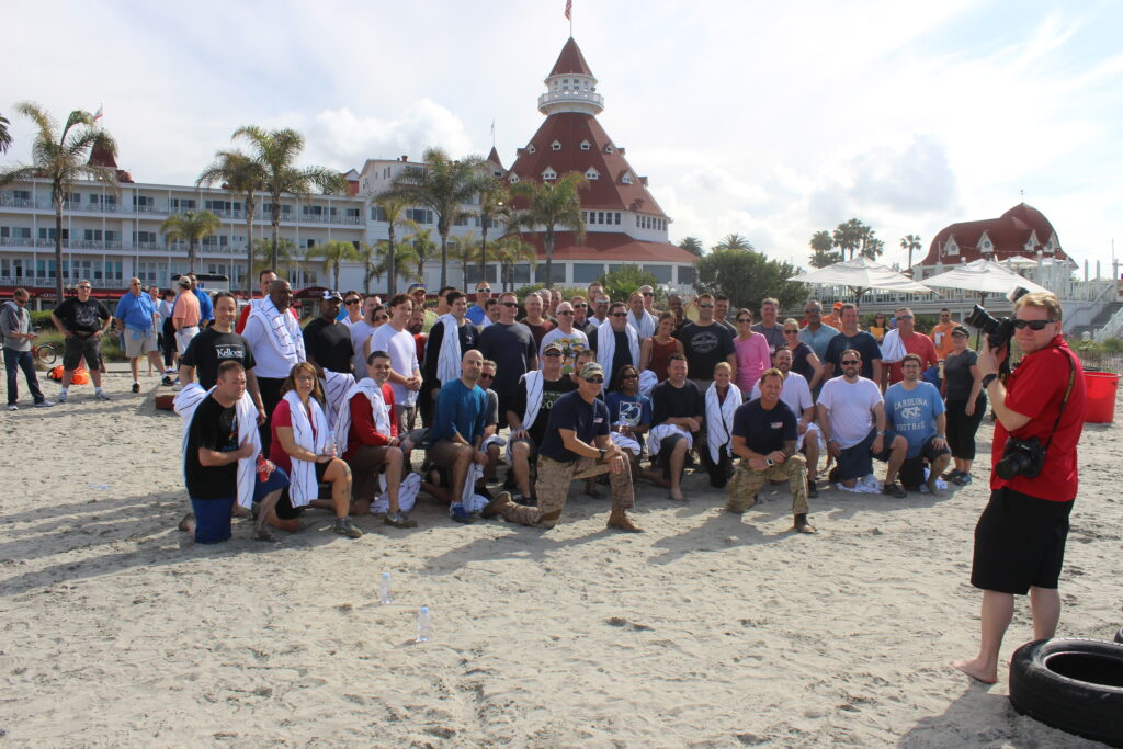 """Team building """"boot camp"""" produced by Skydiving Innovations, April 11, 2016"""