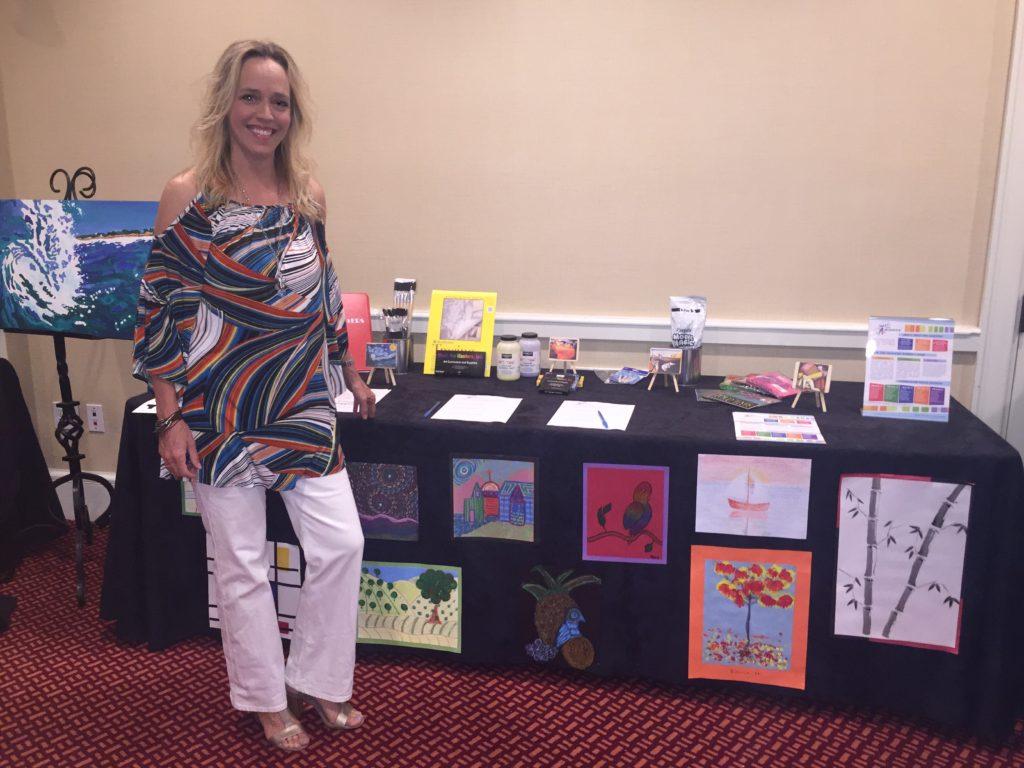 Village Art Auction 2016 Meet the Masters curriculum.