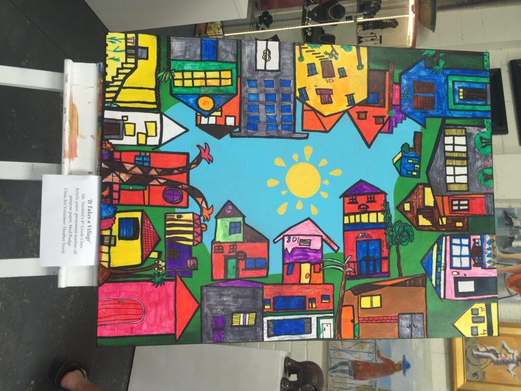 village elementary s art auction a true masterpiece coronado times