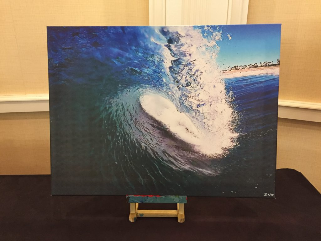 Daron Case donated this piece to the Art Auction.