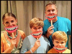 The Mullins family (Photo courtesy of Mullins Orthodontics Facebook page)