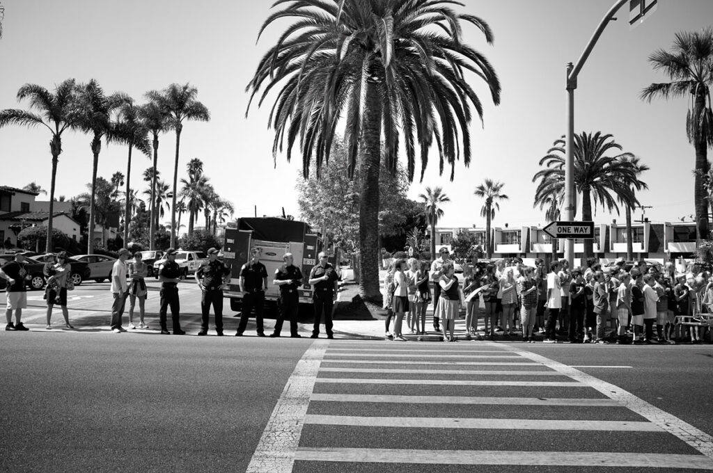 Coronado resident Dana Neibert shared this photo during a similar procession from 2011.