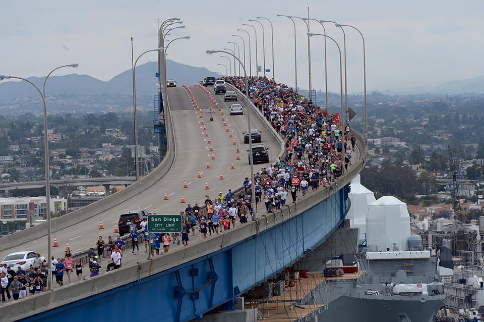 Naval base coronado state of the base coronado times for Bay bridge run 2016