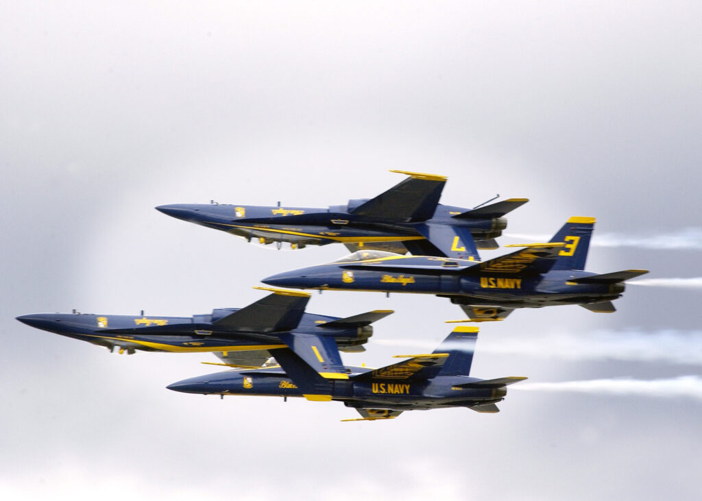 US Navy fighter jet crashes in Tennessee during air show practice