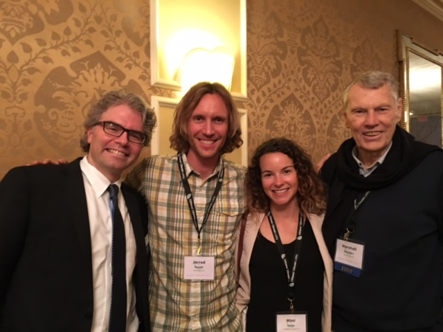 Marshall Saunders (on the right) and fellow Citizens Climate Change Lobby at their Conference in Washington D.C. this summer.