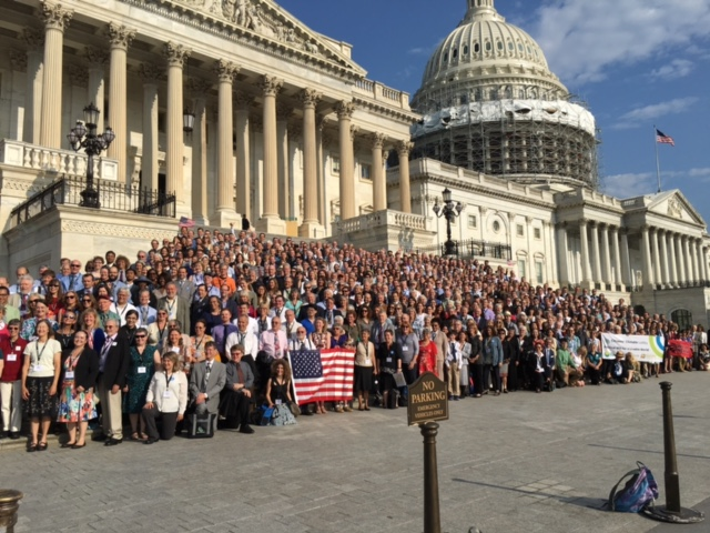 All the members of the Citizens Climate Change Lobby - Proud Americans
