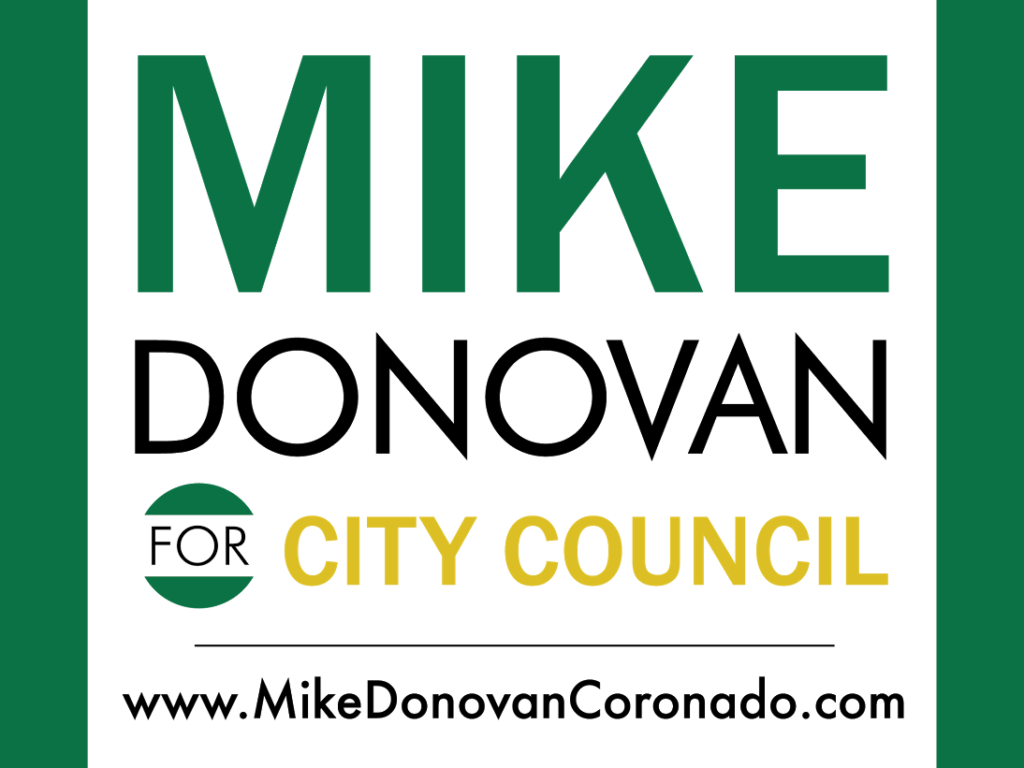 Mike Donovan is running for Coronado City Council.