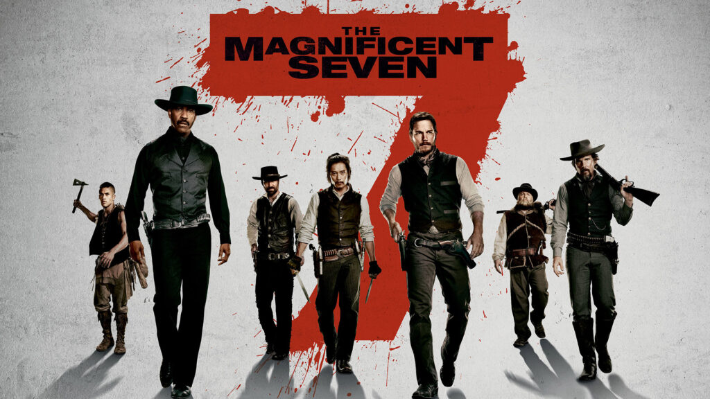 Denzel Washington, Chris Pratt take wild ride in 'Magnificent Seven'