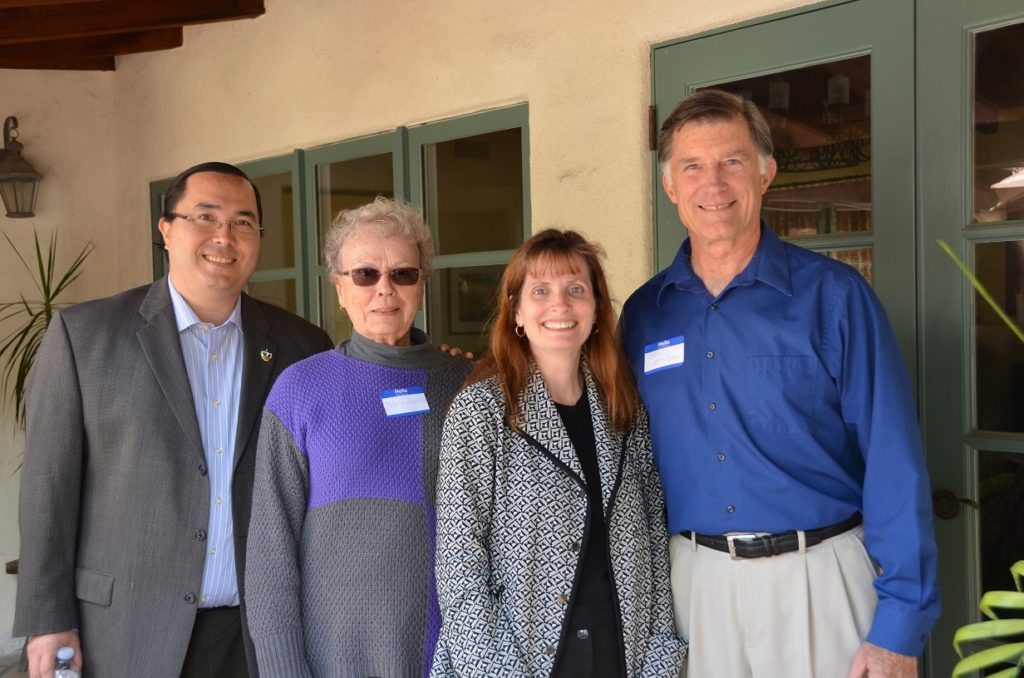 From left: Casey Tanaka, Mary Herron, Carrie Downey, Tom Smisek. Submitted photo.