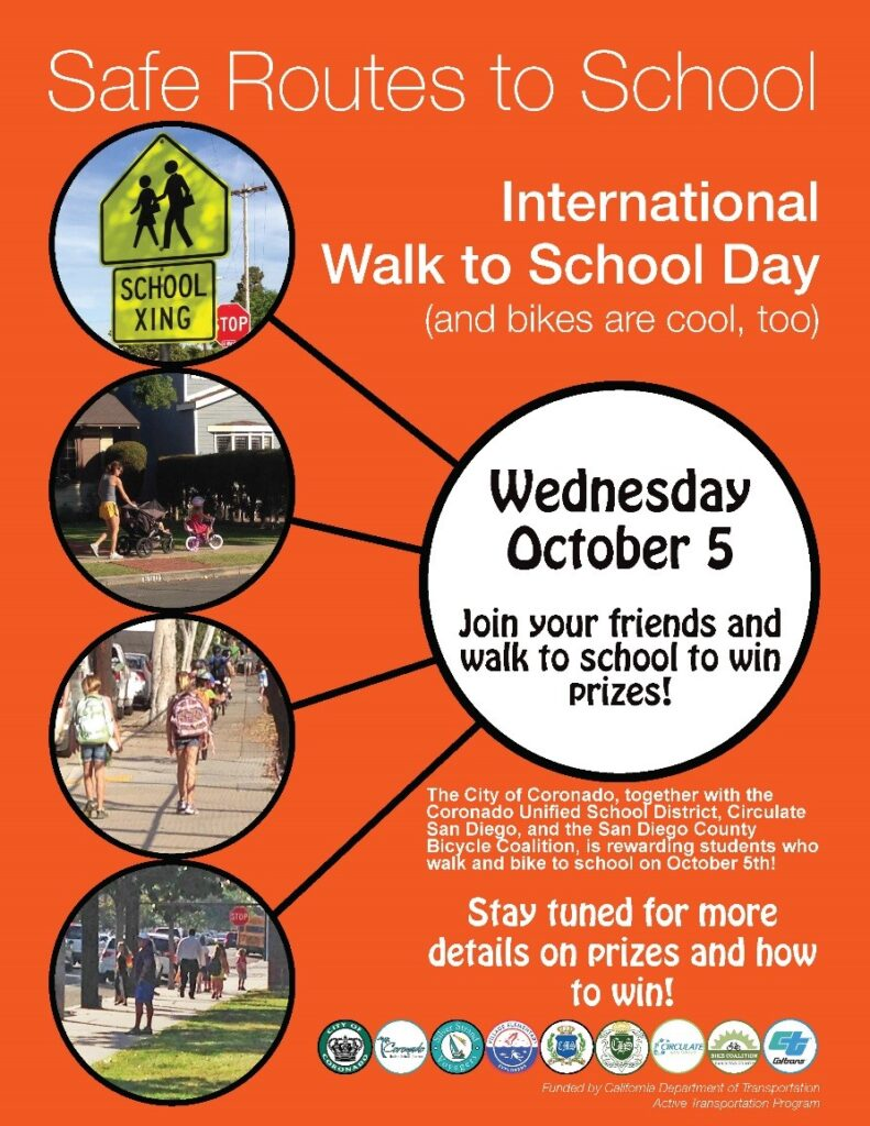 City cusd to celebrate international walk to school day for Walk in safe for sale