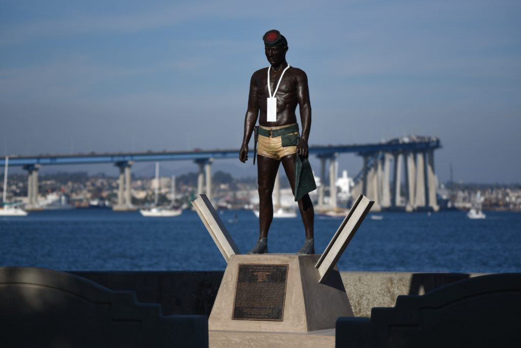 first-ashore-statue-naked-warrior