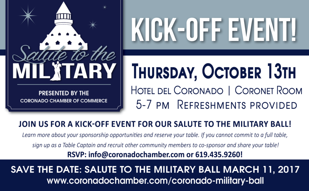 Military Ball Kickoff Invite Coronado Times