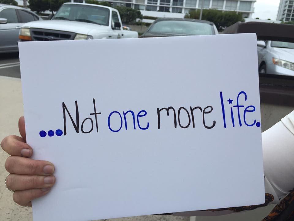 not-one-more-life-sign