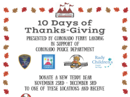Ferry Landing 10 Days of Thanks-Giving flyer
