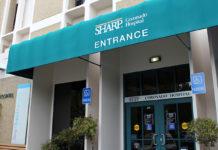Sharp Coronado Hospital entrance