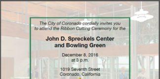 spreckels ribbon cutting invite