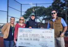 Blue Bridge donates to Village