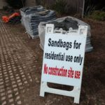 City of Coronado sandbags