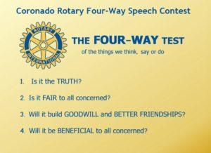 Rotary Four-Way Speech Contest