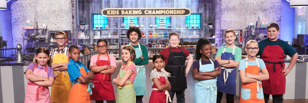 Food Network Kids Baking Championship contestants