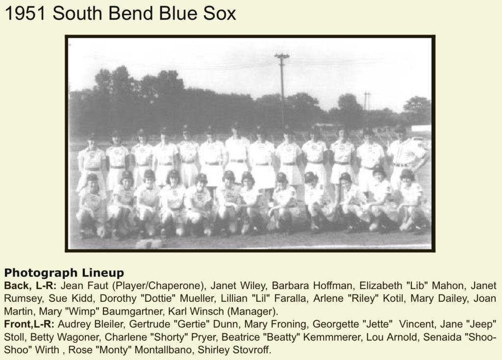 1951 South Bend Blue Sox