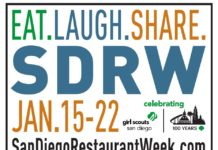 san diego restaurant week Jan 2017