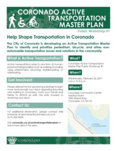 Active Transportation flier