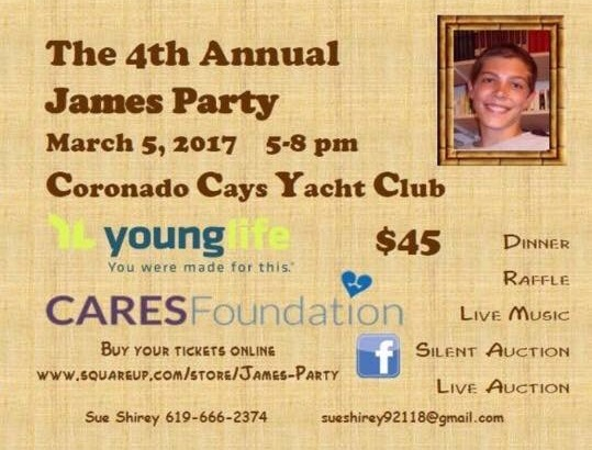 4th Annual James Party