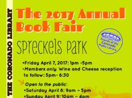 2017 Book Fair flyer