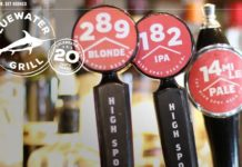 Bluewater High Spot Draft Beer